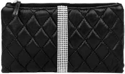 Fume Women Party Black  Clutch