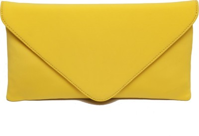 SG Collection Girls Casual Yellow  Clutch