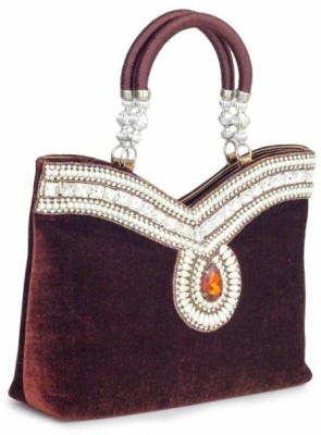 Penguin Girls Party Brown  Clutch