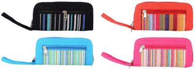 AFW Casual Red, Black, Blue, Pink  Clutch