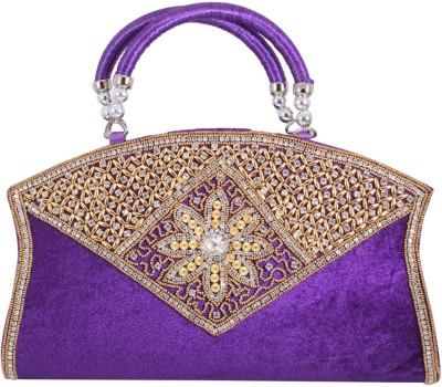 Alishaan Wedding, Party, Festive Purple  Clutch