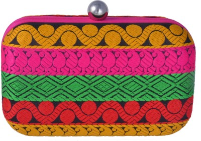 Posh Women Casual Multicolor  Clutch