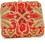 adiba Women Red  Clutch