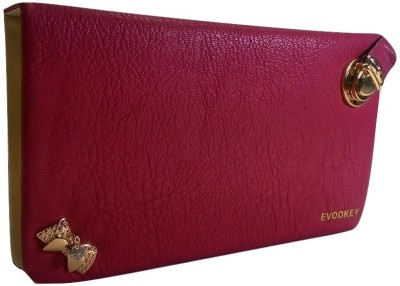Evookey Wedding, Casual, Party, Formal, Festive Maroon  Clutch