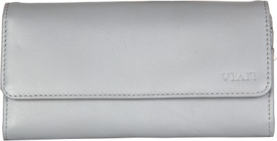 Viari Women Formal Grey  Clutch