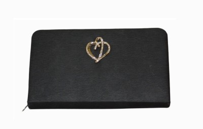 Vedic Deals Casual Black  Clutch