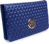 Star Style Women Casual Blue  Clutch