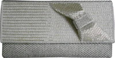 Balee Fashions Women Casual Silver  Clutch