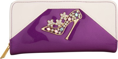 Aliza Women Party Purple  Clutch