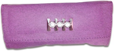 Linzina Casual, Formal Purple  Clutch