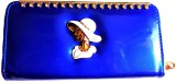 Achal Women Blue  Clutch