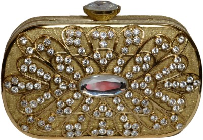 Tanishka Exports Gold  Clutch