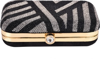 Himalaya Handicraft Wedding Black  Clutch