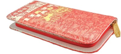 Walletmania Casual, Formal, Festive Red  Clutch