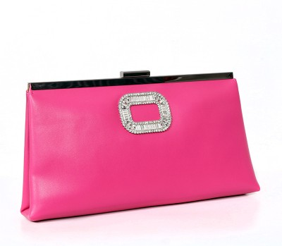 Carry on Bags Women Casual, Party Pink  Clutch