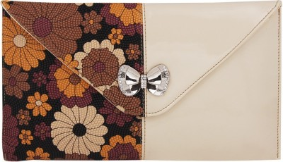 Gihaan Festive, Party White, Multicolor  Clutch
