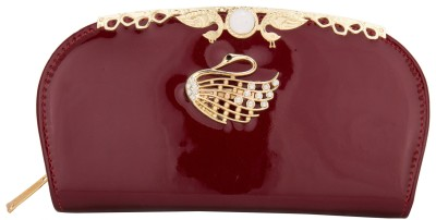 Aliza Women Casual Maroon  Clutch