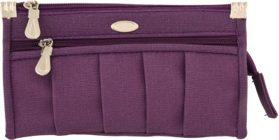 Diamonds World Casual Purple  Clutch