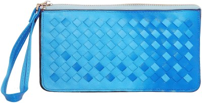Parv Collections Blue  Clutch