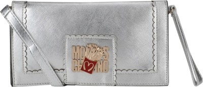 Luxury Living Casual Silver  Clutch