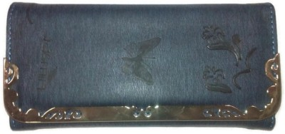 Jasmin Casual, Party, Formal Blue  Clutch
