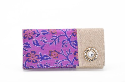 Stylocus Women Casual Purple  Clutch