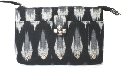 PO,UCH - UP Casual, Party Black  Clutch