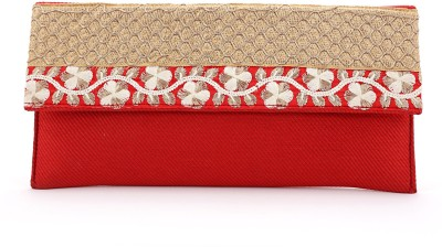 Elligator Women Party Red  Clutch