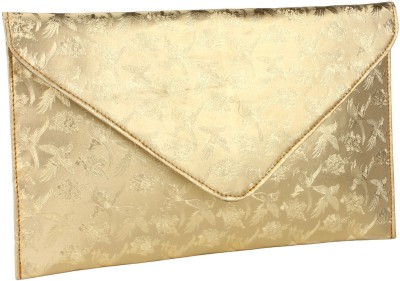 Do Bhai Women Party Gold  Clutch