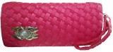 Modish Look Women Casual Pink  Clutch
