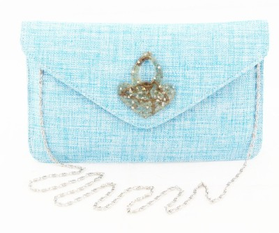 Sushito Women Party Blue  Clutch