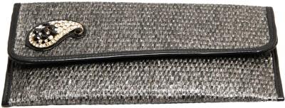 Itzmyfashion Women Casual Grey  Clutch