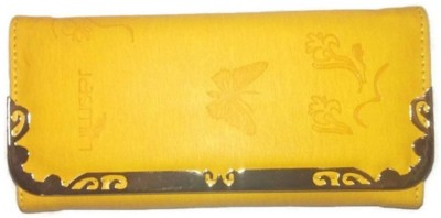 Jasmin Casual, Party, Formal, Festive Yellow  Clutch