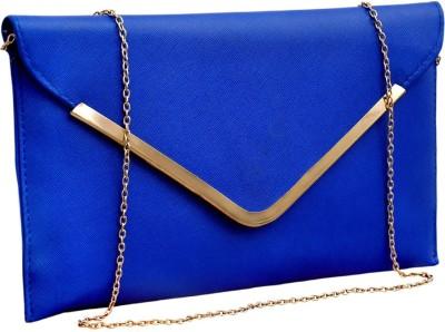 StyleSaga Casual Blue  Clutch
