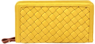 President Girls, Women Casual, Formal, Party Yellow  Clutch