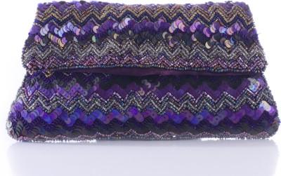 Peaubella Women, Girls Festive Purple  Clutch