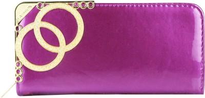 Toral Casual, Festive, Wedding Purple  Clutch