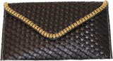 Sappho Women Black  Clutch