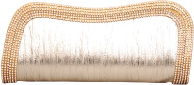 Kimayaa Women Wedding Gold  Clutch