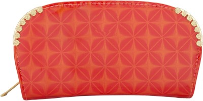 Aliza Women Casual Orange  Clutch