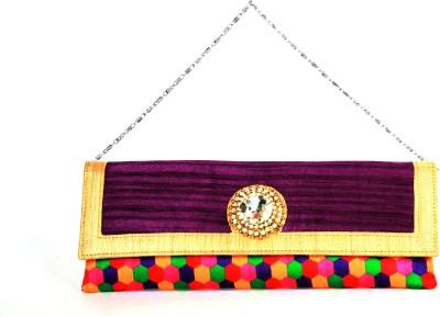 Adaa Women, Girls Casual, Party Multicolor  Clutch