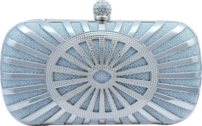 Super Drool Party Silver  Clutch