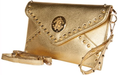 Young & Forever Women Casual, Party, Wedding Gold  Clutch