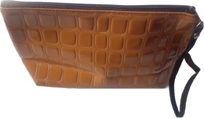 Viva Fashions Casual Brown  Clutch