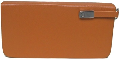 Sunvalley Tan  Clutch