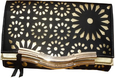 Spice Art Party Black  Clutch