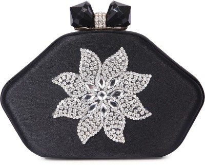 Zotti Women Festive Black  Clutch