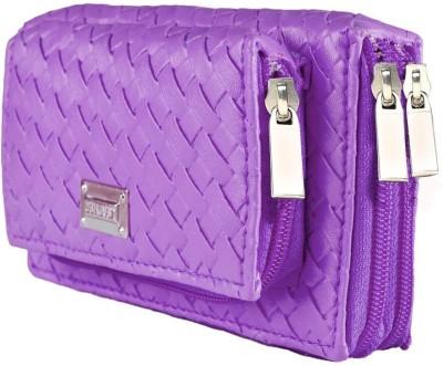 Magiq Women Party Purple  Clutch