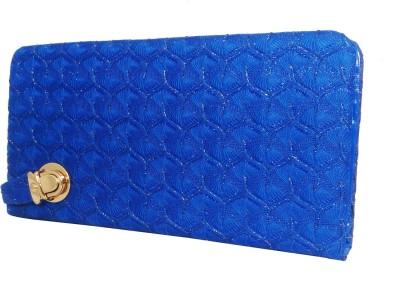 Online Keeda Blue  Clutch