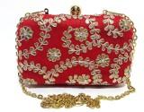 Arisha Kreation Co Women Festive Red  Cl...